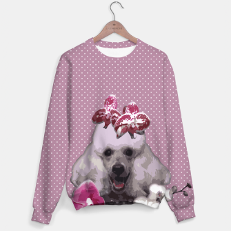 Miniatur  Pink poodle Sweater, Live Heroes