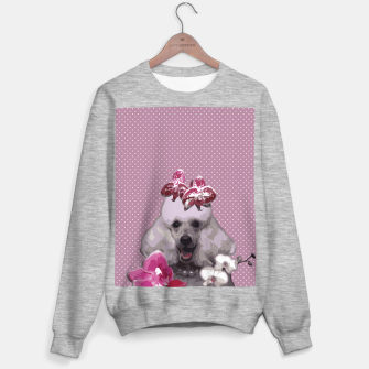 Thumbnail image of  Pink poodle Sweater regular, Live Heroes