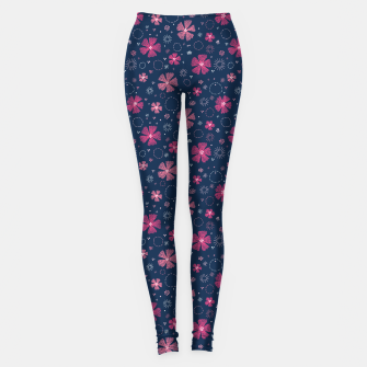 Thumbnail image of Carthusian Pink Embroidery Leggings, Live Heroes