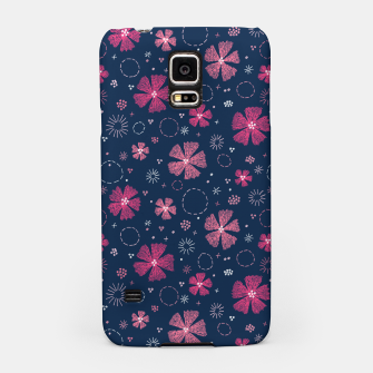 Miniatur Carthusian Pink Embroidery Samsung Case, Live Heroes