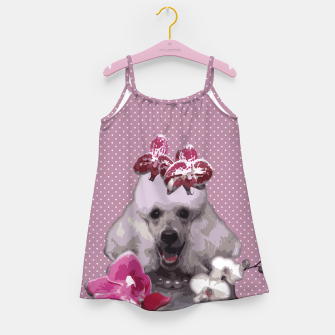 Thumbnail image of  Pink poodle Girl's Dress, Live Heroes