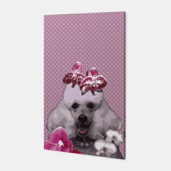 Thumbnail image of  Pink poodle Canvas, Live Heroes