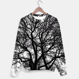 Thumbnail image of Be Like A Tree Sweater, Live Heroes