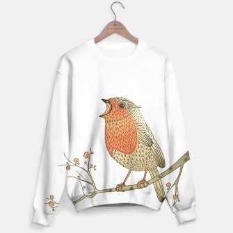 Thumbnail image of Songbird Robin Sweater, Live Heroes