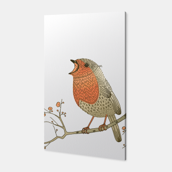 Thumbnail image of Songbird Robin Canvas, Live Heroes