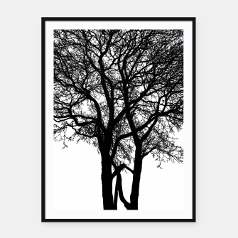 Thumbnail image of Be Like A Tree Framed poster, Live Heroes