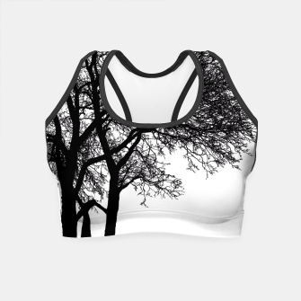 Thumbnail image of Be Like A Tree Crop Top, Live Heroes