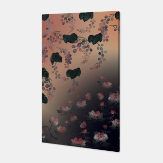 Thumbnail image of Japanesque flower decoration Canvas, Live Heroes