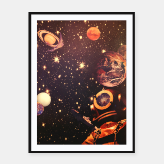 Miniaturka Space Boots. Framed poster, Live Heroes