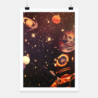 Miniatur Space Boots. Poster, Live Heroes