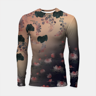 Miniature de image de Japanesque flower decoration Longsleeve Rashguard , Live Heroes