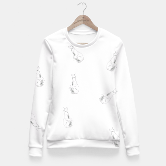 Miniature de image de Unicorn Bear Fitted Waist Sweater, Live Heroes