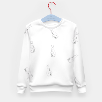 Miniature de image de Unicorn Bear Kid's Sweater, Live Heroes