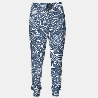 Thumbnail image of Blue Cabbage Labyrinth Sweatpants, Live Heroes