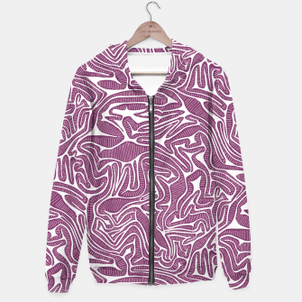 Miniatur Red Cabbage Labyrinth Hoodie, Live Heroes