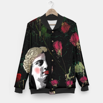 Thumbnail image of  Aphrodite in the gardens Baseball Jacket, Live Heroes
