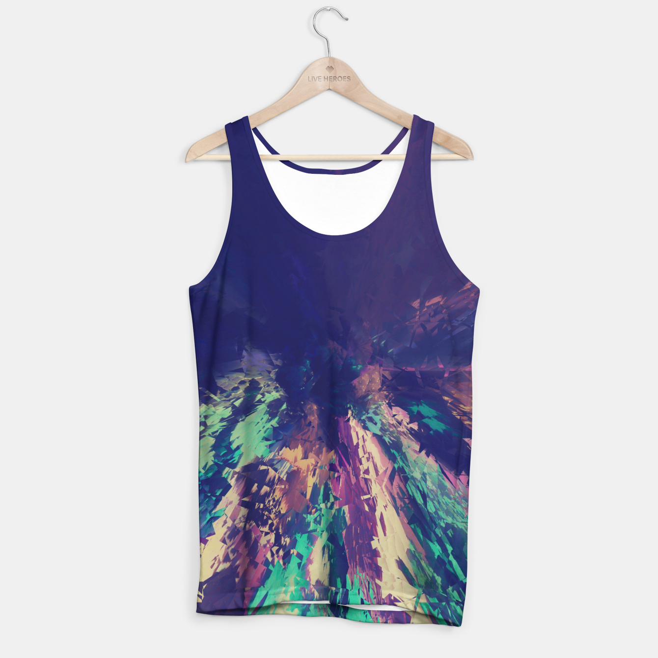 Image of Explosive Colors Tank Top - Live Heroes