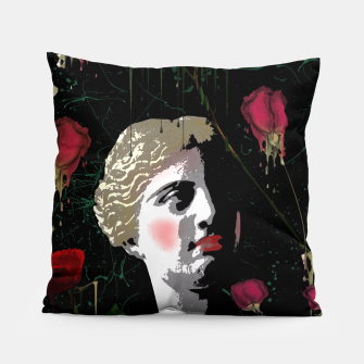 Thumbnail image of  Aphrodite in the gardens Pillow, Live Heroes