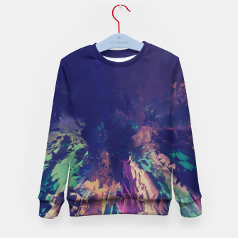 Thumbnail image of Explosive Colors Kid's Sweater, Live Heroes