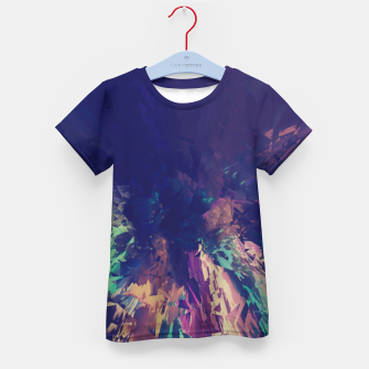 Explosive Colors Kid's T-shirt thumbnail image
