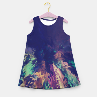 Explosive Colors Girl's Summer Dress thumbnail image