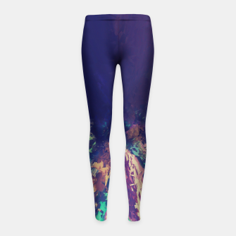 Explosive Colors Girl's Leggings thumbnail image
