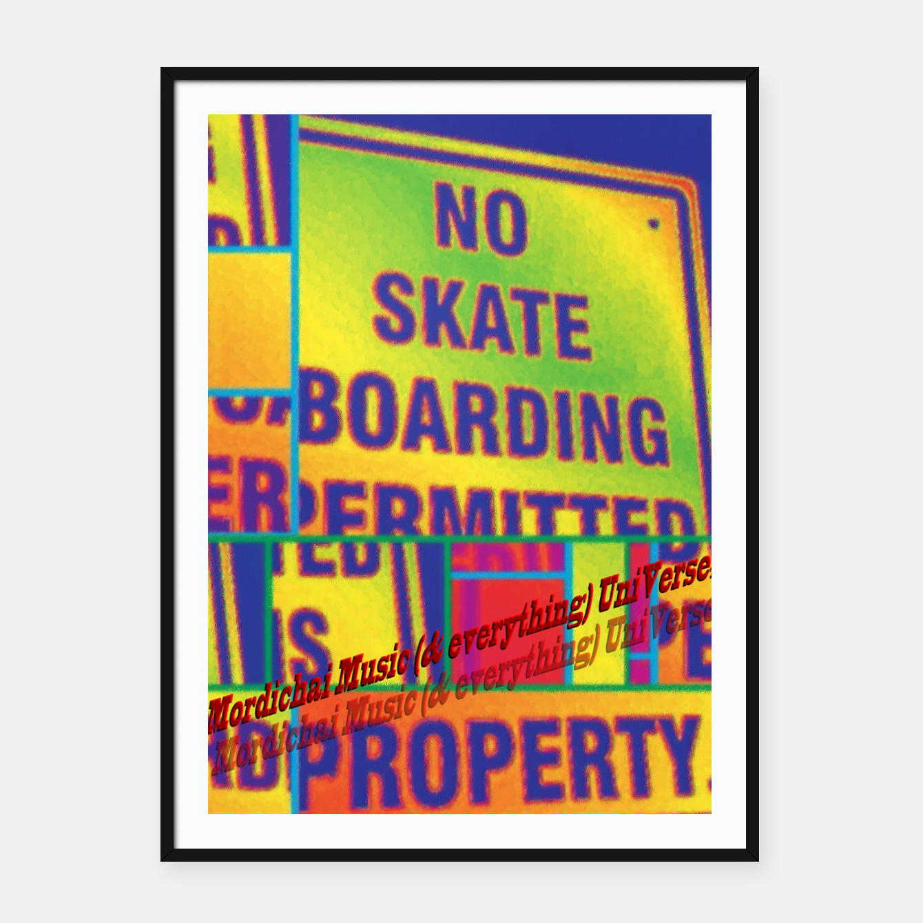 Image of No Skateboarding Permitted - Live Heroes