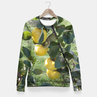 Miniature de image de apples on a tree Bluza taliowana, Live Heroes