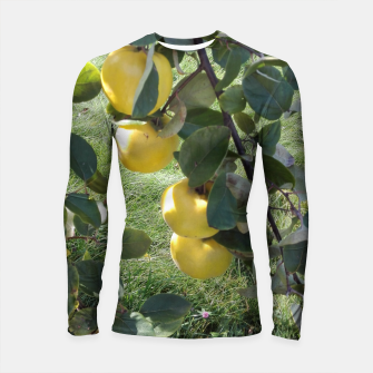 Miniature de image de apples on a tree Rashguard Długi Rękaw, Live Heroes
