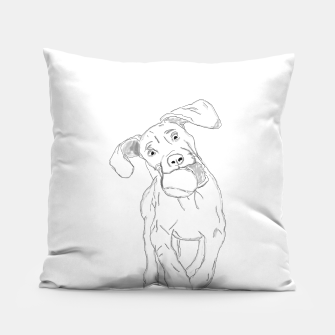 Thumbnail image of Marzipan.the.Vizsla Pillow, Live Heroes