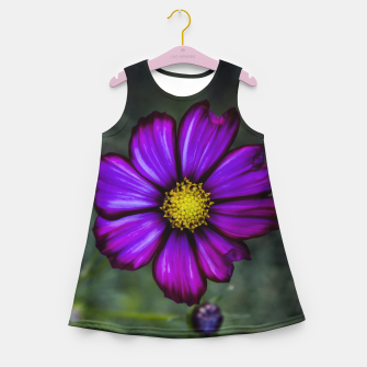 Thumbnail image of Floral autumn Girl's Summer Dress, Live Heroes