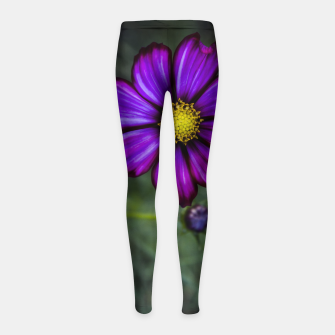 Thumbnail image of Floral autumn Girl's Leggings, Live Heroes