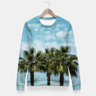 Miniature de image de Good vibes. Tropical Fitted Waist Sweater, Live Heroes