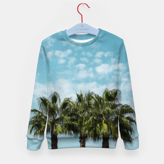 Thumbnail image of Good vibes. Tropical Kid's Sweater, Live Heroes