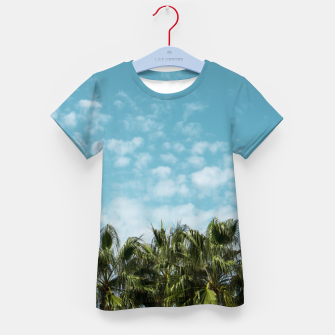 Thumbnail image of Good vibes. Tropical Kid's T-shirt, Live Heroes