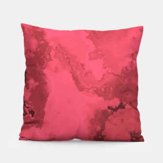 Thumbnail image of Red Flows Pillow, Live Heroes