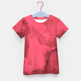 Thumbnail image of Red Flows Kid's T-shirt, Live Heroes