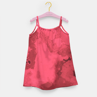 Thumbnail image of Red Flows Girl's Dress, Live Heroes