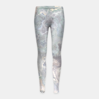 Thumbnail image of Ice Flow Girl's Leggings, Live Heroes