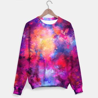 Abstract Painting Sweater Bild der Miniatur