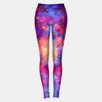 Abstract Painting Leggings Bild der Miniatur