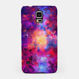 Miniaturka Abstract Painting Samsung Case, Live Heroes