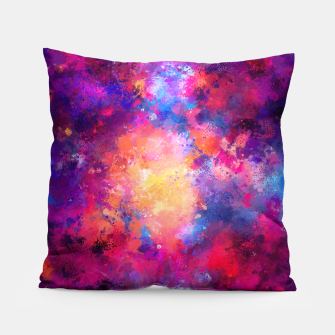 Abstract Painting Pillow Bild der Miniatur