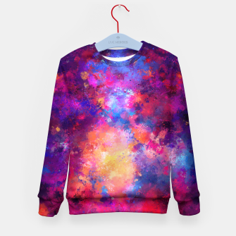 Abstract Painting Kid's Sweater Bild der Miniatur