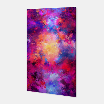 Abstract Painting Canvas Bild der Miniatur