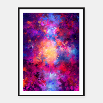 Abstract Painting Framed poster Bild der Miniatur