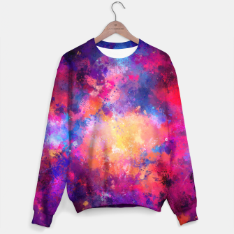 Miniaturka Abstract Painting Sweater, Live Heroes