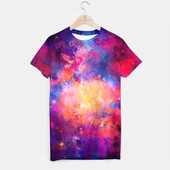 Miniaturka Abstract Painting T-shirt, Live Heroes