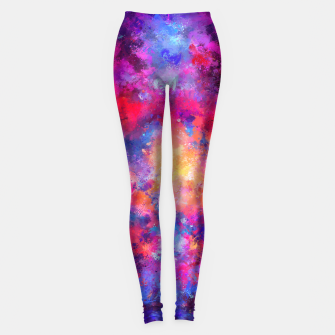 Miniaturka Abstract Painting Leggings, Live Heroes