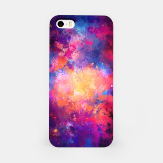 Miniaturka Abstract Painting iPhone Case, Live Heroes